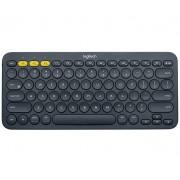 Logitech K380 Bluetooth Black mobile device keyboard