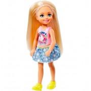 Barbie Chelsea Blondin Docka - Rosa Hårband