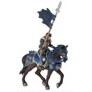 Schleich Blue Dragon Knight on Horse with Lance
