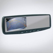 ABM 4,3″ monitor visszapillantó tükrös 12V