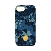 FLAVR studio Navy Feuilles iPhone 6 6s 7 8 couverture hardcase - coloré