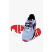 Puma Faas 500 V4 Quarry-Black-High Risk Red Running Shoes For Men(Grey)
