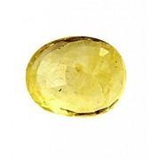 Jaipur Gemstone 11.44 carat yellow sapphire(pukhraj)