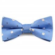 Tailor Toki Nœud papillon bleu avec marguerites
