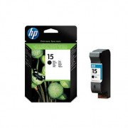 HP 15 Large Black Inkjet Print Cartridge Negro cartucho de tinta C6615D