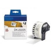 Printflow Compatível: Etiquetas Brother branco 38mm X 30.48m (DK22225)