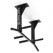 Capital Sports Успоредка за фитнес KLARFIT, за монтаж на таван черна <350 KG (FIT1-Tyro S4)