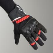 Alpinestars Motorrad-Handschuhe Alpinestars Booster Schwarz-Rot