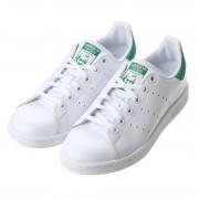 アディダス adidas STAN SMITH J スタン スミス ジェイ (WHITExGREEN) レディース