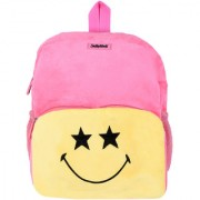 SmileyWorld Star Eyes Soft Toy School Bag 14 Inch Baby Pink by Ultra