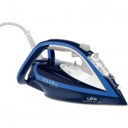 Plancha Ultimate Anti-calc T-fal Modelo FV9640XO Color Azul