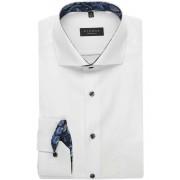 ETERNA Comfort Fit Hemd Extra langer Arm (72cm) weiss