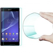 25D Curved Edge HD Flexible Tempered Glass Screen Protector for Sony Xperia T2 Ultra