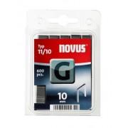Novus tűzőkapcsok, lapos G 11 10 mm 5000 db