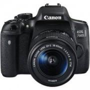 Огледално-рефлексен фотоапарат Canon EOS 750D + EF-S 18-55 IS STM / AC0592C005AA