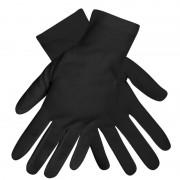 Geen Set van 2x paar zwarte verkleed handschoenen kort volwassenen