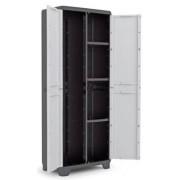 LINEAR műanyag multifunkciós tároló szekrény 173 x 68 x 39 cm