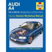Audi Haynes Werkplaatshandboek Audi A4 benzine &: Diesel (1995-2000)