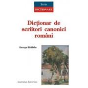 Dictionar de scriitori canonici romani/George Badarau