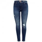 ONLY Dámské džíny ONLPAOLA HW SK DES JNS BB AZ139941 NOOS Medium Blue Denim XS/32