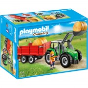 Joc PLAYMOBIL Large Tractor with Trailer