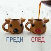 """Коледна, Магическа Чаша """"Еленче"""""""