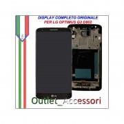 Display LG Optimus Nero Black G2 D802 Vetro Touch Lcd Frame Schermo Originale