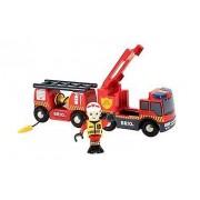 Brio Emergency Fire Truck 33811 Accessory for Wooden Railway Set