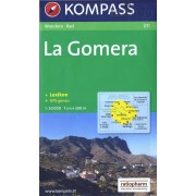 Wandelkaart 231 La Gomera | Kompass