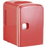 Rosenstein & Söhne Mini réfrigérateur 2 en 1 avec prise 12 / 230 V - rouge