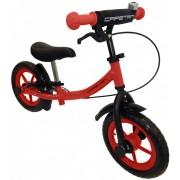 """Capetan® Sirius Premium Line Piros színű, fékkel ellátott 12"""" kerekű futóbicikli sárhányóval és csen"""