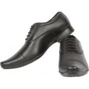 Backmesh Formal Laces Shoes Lace Up For Men(Black)