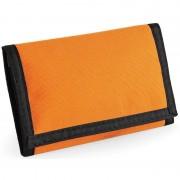 Bagbase Portemonnee/portefeuille met klittenband sluiting oranje