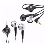 Auricular Universal Manos Libres Microfono Boton - Negro