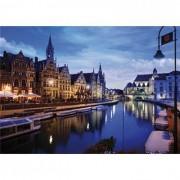 Puzzle D-Toys - Gand, Belgium, 1.000 piese (DToys-64301-NL03)