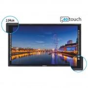 WACEBO Monitor Led 65 Pollici Monitor 4K interattivo Dabliu Touch - M565-40T-4K - DBLWEM5-65-40T-4K