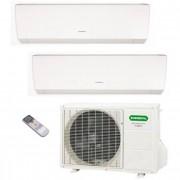 General Fujitsu Climatizzatore/Condizionatore Fujitsu General Dualsplit Parete AOHG18LAC2 + ASHG07LMCA + ASHG14LMCA