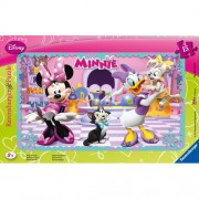 Puzzle Minnie Mouse, 15 piese, RAVENSBURGER Puzzle Copii