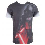 tričko pánské Star Wars - Kylo Side Print Sub - ROCK OFF - STWAEP7TS24MB