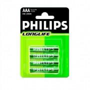Bateria AAA LR3 LONG LIFE - PHILIPS - baterie małe paluszki