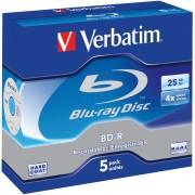 BD-R25 VER 5 - BD-R, 25GB, 5er Pack