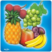 Platapilla USA PPAF30050 Fruit Tray Puzzle