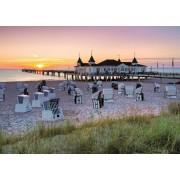 Puzzle Ravensburger - Marea Baltica Ahlbeck, 1.000 piese (19112)