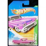 2011 HOT WHEELS TREASURE HUNT `58 IMPALA 3/15 TREASURE HUNTS 53/244