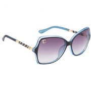 Clark n' Palmer Grey UV Protection Over-sized Women Sunglasses