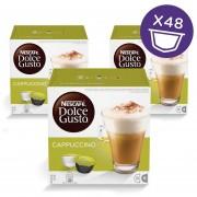 Triple Pack 48 Capsulas Cappuccino Nescafe Dolce Gusto