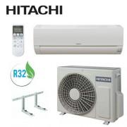 Hitachi Condizionatore Climatizzatore Hitachi Dodai Monosplit Rac35wed/rak35ped 12000 Btu Gas R32 + Staffe