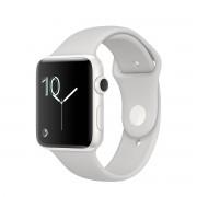 Ceas Apple Watch Edition White Ceramic Case cu bratara Cloud Sport
