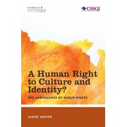 Human Right to Culture and Identity. The Ambivalence of Group Rights, Paperback/Janne Mende