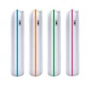 Batterie De Secours Externe 2600mah Power Bank Pour Smartphone Téléphone Portable Iphone 4/5/5c/5s/6/6 Plus Ipad Air/Mini Ipod Touch Samsung Galaxy S4/S5/S6/S6 Edge Sony Xperia Lg Htc Motorola, Bleu